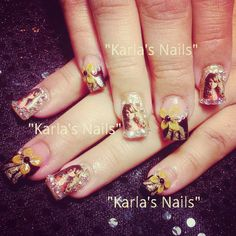 Jenni Rivera Nails