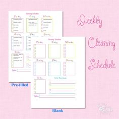 I need organization tips like this! Shows how to create a simple plan for actually being organized and completing the cleaning around the house.