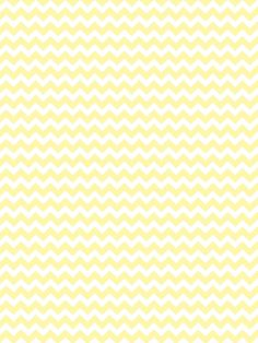 Lemon Yellow Chevron / 9809