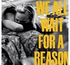 We wait #MilSpouse - MilitaryAvenue.com