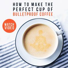 Recipe: How to Make Your Coffee Bulletproof®…And Your Morning Too | The Bulletproof Executive.  My new favorite way to drink coffee.