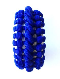 Banes cuff paracord bracelet by Castillo Paracord.
