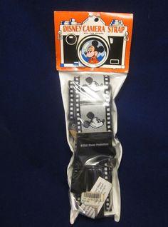 Great piece of Disneyana! Mickey Mouse Camera strap - with film holders - by Artist Bobby Lee #WaltDisneyWorldResorts #undertherooftreasures #VintageDisney #Disneyana #ClassicMickeyMouse #DisneyResorts