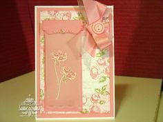 Bee Divine Designs: Pink, Pink, Pink with the stamp set happiness shared