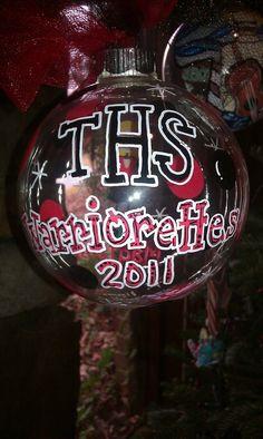 Thompson Warriors ornament  $25