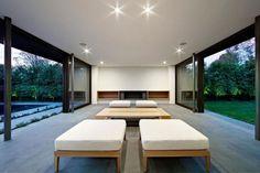 Modern pool house by Urban Angles