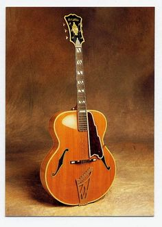 1951 D'Angelico *New Yorker* #DAngelico #Guitar