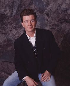 Rick Astley - my very first ginger crush
