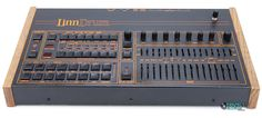 The classic 80s LinnDrum now used by new disco and indie dance producers like Louis La Roche