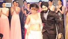 AD Singh show at the Hyderabad International fashion week.
