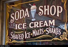 Old-Fashioned Ice Cream Signs | an-old-fashioned-sign-at-big-top-candy-shop-in-austin-texas-that-reads ...