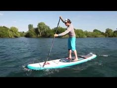SUP Basic Paddling - with Sam Ross - YouTube
