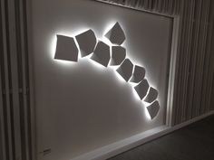 #LB14 - this year we noticed a definite trend in surface and suspended #lighting fixtures, predominately square-shaped.