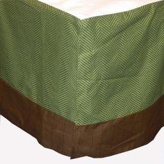 Just Born Jill McDonald Adorable Dino Bedding Collection - Adorable Dino Baby Crib Dust Ruffle