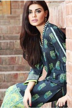 Khaadi - Unstitched  Cambric 2015 Blue