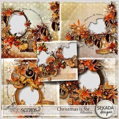 Christmas is for Albums | Sekada Designs