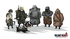 We are sometimes called to remember war heroes in war cemeteries, or in front of monuments for anonymous soldiers. Valiant Hearts: The Great War invites us to remember through gameplay. Its heroes …