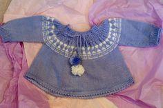 Bébé chandail chandail tricot à la main par IngridofCopenhagen