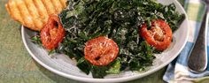 Change up your caesar salad and use kale instead!