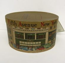 Vintage Dobbs Fifth Avenue Hat Box.  I believe that Dobbs made only hats for men