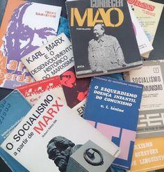 Quando passeias por Lisboa e de repente aparece umha feira do livro usado com seçom de marxismo e a preços muito bons