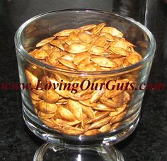 SCD Roasted Pumpkin Seeds (*Use SCD legal spices if using...)