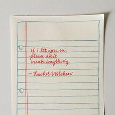 Rachel Wolchin