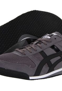 Onitsuka Tiger by Asics Ultimate 81 (Charcoal/Black) Classic Shoes - Onitsuka Tiger by Asics, Ultimate 81, HN201-7390, Women's Athletic Fashion Fashion, Running, Classic, Athletic, Footwear, Shoes, Gift, - Fashion Ideas To Inspire