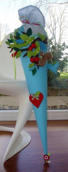 """Schultüten - Schultüte """"rumhängen"""" - ein Designerstück von frech-und-frei-by-lala bei DaWanda"""