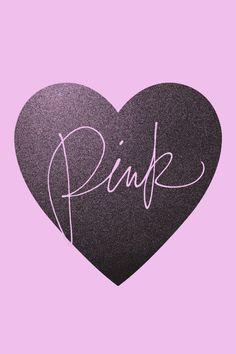 Signature PINK Heart Wallpaper