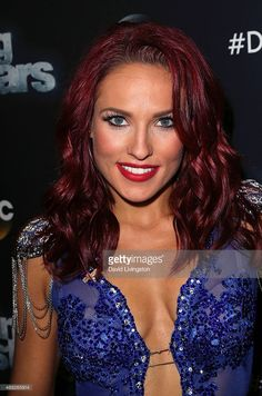 Dancer/TV personality Sharna Burgess attends ABC's 'Dancing with the Stars'…