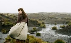 How is childhood presented in wuthering heights