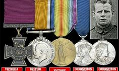 Victoria Cross awarded to WWI hero goes on sale for £160,000
