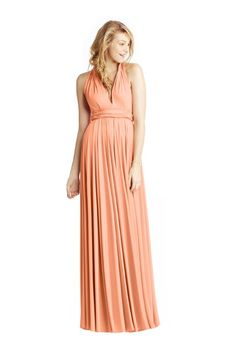 Peach Bridesmaid Dresses | Brides