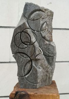 """Buy """"Geometry III"""", Stone sculpture by Ognyan Chitakov on Artfinder. Discover thousands of other original paintings, prints, sculptures and photography from independent artists. Stone Sculpture, Garden Sculpture, Sculptures For Sale, Geometry, Original Paintings, Artists, Artwork, Photography, Stuff To Buy"""