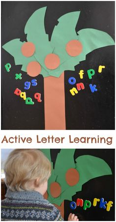 ABC Game great for early letter learners!