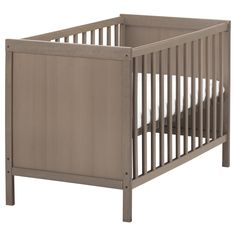 SUNDVIK Babybett   IKEA Kinderbett, Kinderzimmer, Klettern,  Kleinkinderbett, Ikea Krippe, Babywiegen
