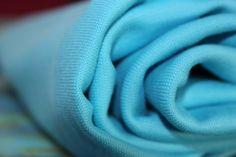 Stoffonkel - Bio-Bündchen Soft-Rib Uni-Meerblau  #stoffonkel #fabric #BIO #softrib #uni #cotton #rib #oceanblue
