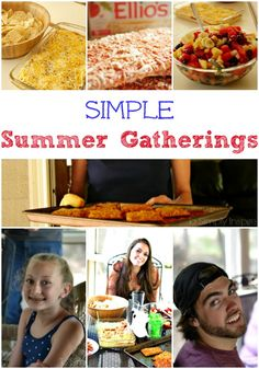 Our simple Summer gatherings have officially begun!  Come see how easy it can be!  There may just be a fun video of me to watch too!  Gulp :-) #summer #ElliosPizza #ad