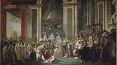 Coronation of Emperor Napoleon I and Coronation of Empress Josephine in Notre Dame Cathedral of Paris, December by Jacques-Louis David and Georges Rouget, Empress Josephine, The Empress, Napoleon Josephine, Frankfurt, A4 Poster, Poster Prints, Statues, Santa Anna, Manufacture De Sevres