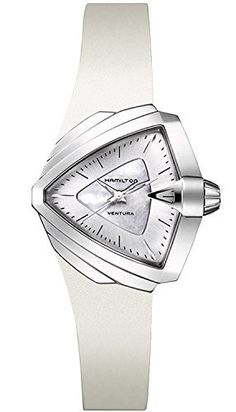 Hamilton Modern Ladies Ventura S Watch White Dial and Band     For more  information 36f2db9b57b4
