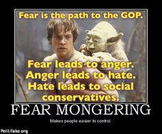 be afraid, be very afraid.....