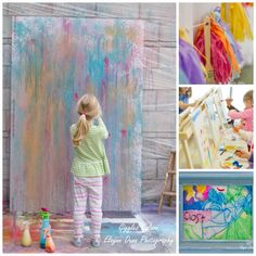 Activity :: Spray Bottle Painting  via Giggles Galore