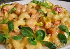 Quick Pasta Recipes, No Salt Recipes, Chicken Recipes, Cooking Recipes, Healthy Recipes, Good Food, Yummy Food, Healthy Meal Prep, Main Meals