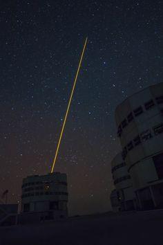 90 km di fascio laser