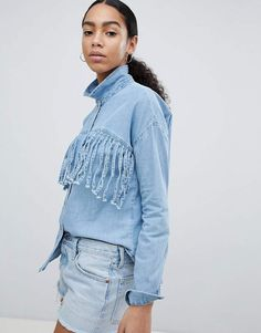 Noisy May Fringed Denim Shirt#petitewomensclothing#trendypetiteclothing#inexpensivepetiteclothes#designerpetiteclothing#fashionablepetiteclothing#petitedresses#outfitideasforwomen#outfits#trendy#trendyoutfitsforwomen#springoutfits#denim#denimondenim#denimoutfit#denimoutfitideas#denimoutfitideasforwomen#denimfemale#denimshirt#denimshirtdress#denimshirtoutfit#denimshirtoutfitspring#denimshirtoutfitwinter#ad