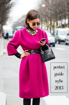 This guide will tell you everything you need to know about #nyfw - what to pack, how to get around, where to eat/drink. Get it here - http://portavi-company.myshopify.com/products/portavi-guide-nyfw-february-2013
