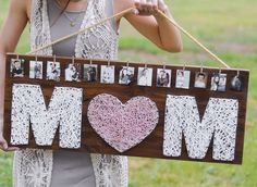 DIY:)) Absolutely in love with this tutorial! Want to make it for my mom as a christmas. (birthday/mothers day/