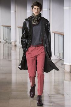 Sfilata Moda Uomo Hermès Parigi - Autunno Inverno 2016-17 - Vogue