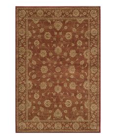 Another great find on #zulily! Burgundy Beverly Rug by Momeni Rugs #zulilyfinds